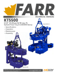 Technical Manual - Farr KT5500 with