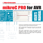 mikroC PRO for AVR User`s Manual