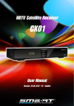 HDTV Satellite Receiver