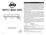 WiFLY Bar QA5 User Manual