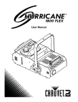Hurricane 1800 Flex User Manual Rev. 8