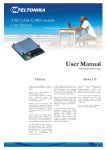 Teltonika user manual 2008 08 06
