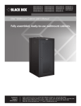 Fully assembled, ready-to-use wallmount cabinets.