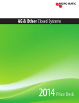 2014 AG - OTHER Closed System Price Deck