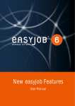 New easyjob Features - protonic software GmbH
