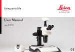 User Manual - Leica Microsystems