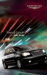 2010 Chrysler Town & Country User`s Guide