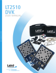 WS-DS-LT2510 DVK User Manual 0309r01