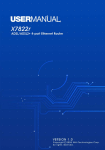 X7822r/X7822r+ User`s Manual Version 1.0