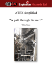 "ATEX simplified ""A path through the mire"""