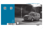 2015 TRANSIT CONNECT Owner`s Manual