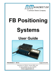 FB Positioning Systems User Guide