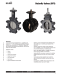 Butterfly Valve Documentation