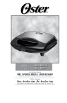 CKSTSM2223 2-Slice Sandwich Maker