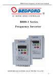 B800-1 Series Frequency Inverter