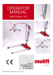 Molift Mover 180 User Manual - Quickie