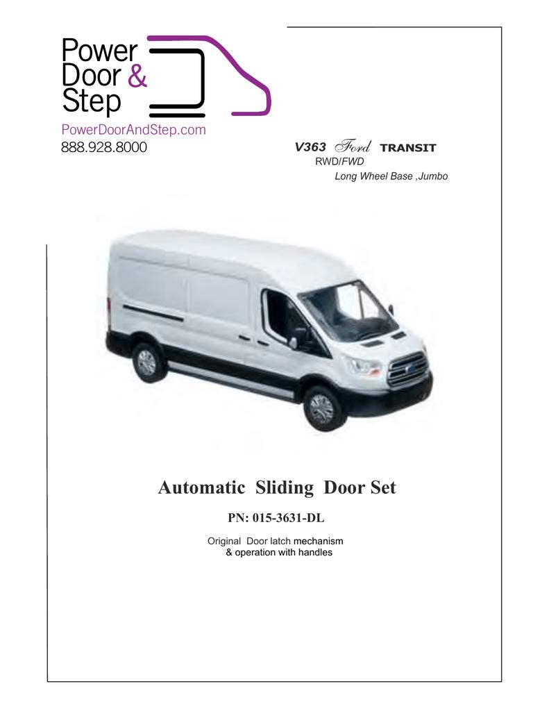 Automatic Sliding Door Set