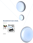 DecoderPro3® User`s Guide
