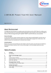 1kW BLDC Power Tool Kit User Manual