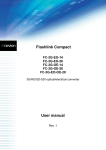 Flashlink Compact User manual