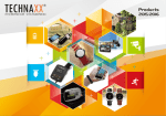 TECHNAXX 2015 Catalogue