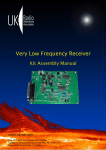 VLF Kit Assembly Manual