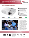 HOME THEATER PROJECTOR HD23