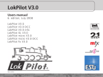 LokPilot V3.0 - South West Digital Ltd