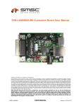 EVB-LAN9500A-MII Evaluation Board User Manual Rev