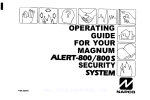 800 User Manual - Alarm Products Of Oklahoma