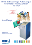 UFA3 user manual
