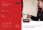 PhoneWatch Home Safety System