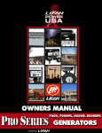 Owner`s Manual - Lifan Power USA
