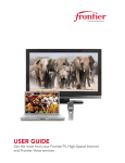 USER GUIDE - Frontier Communications