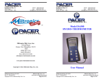 Miltronics 10141-DH500 User Manual Rev 2.7