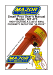 Smart-Prox MT475 User`s manual 19-8-2003