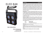 ELED Blinder 48 User Manual