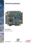 CMA34CR Hardware Manual - RTD Embedded Technologies, Inc.