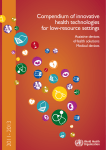 Compendium of innovative health technologies for low