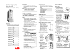 DriveIT Low Voltage AC Drives Quick Start Guide ACS550