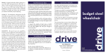 S1 User Manual - Drive Medical