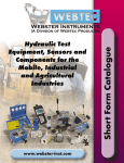 Webtec - Independent Hydraulics Manufacturer | Hydraulic System