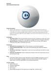 RB-Orb-01 Sphero Bluetooth Robotic Ball Product
