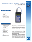 Industrial Hygiene Vibration Monitor