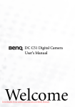 BenQ DC C51 User Guide Manual pdf