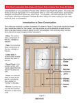 Introduction to Door Construction