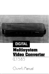 Multisystem Video Converter