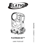 Platinum BX User Manual ver 1