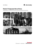 Kinetix 3 Component Servo Drive User Manual