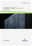 ChlorideTrinergy™ - Emerson Network Power